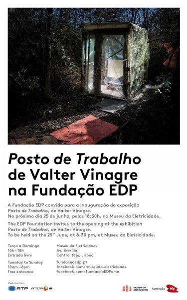 Posto de trabalho de Valter Vinagre na Fundação EDP