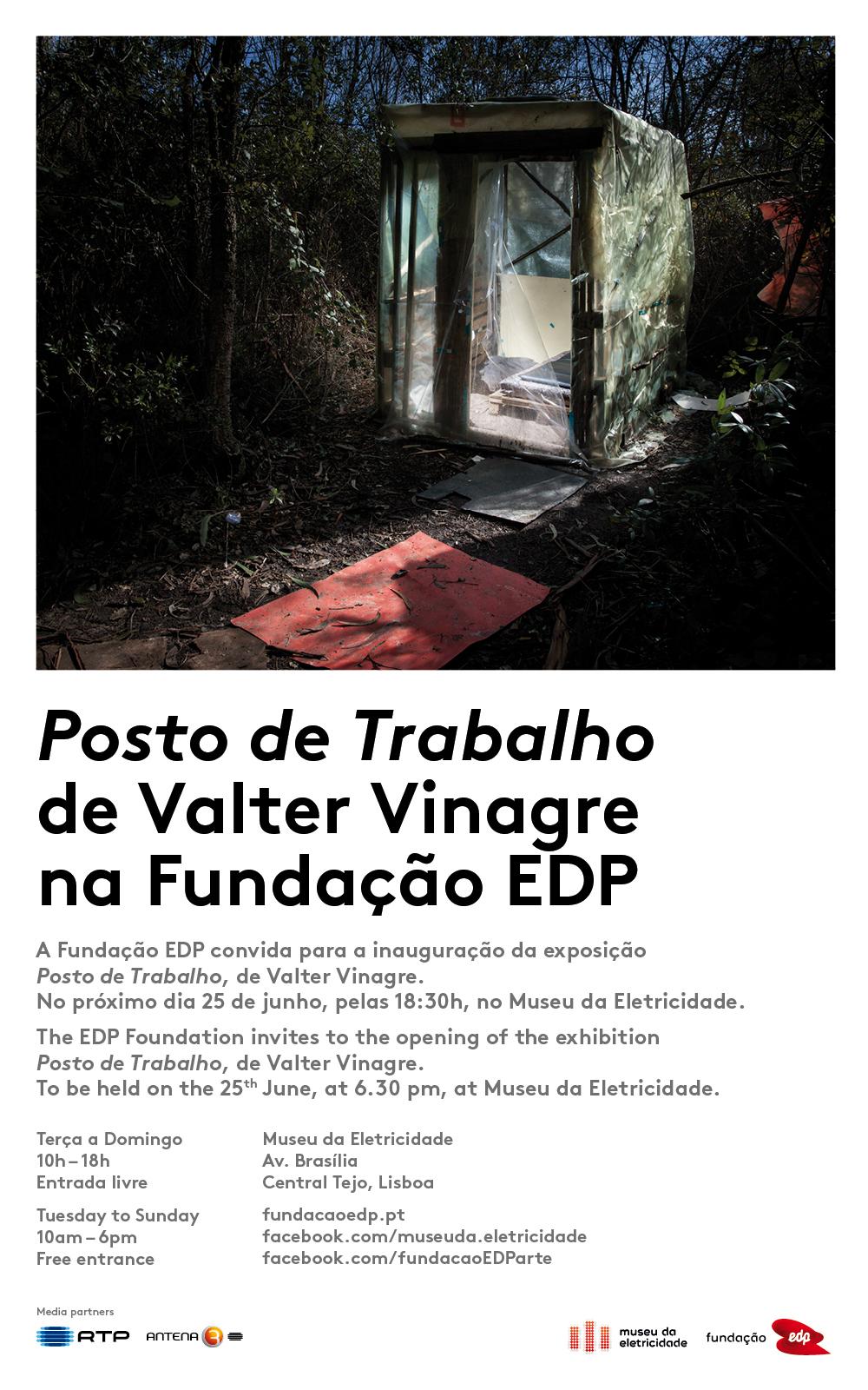 Convite - Posto de Trabalho na Fundação EDP